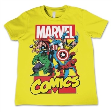 Marvel Comics Heroes T-shirt Bambino