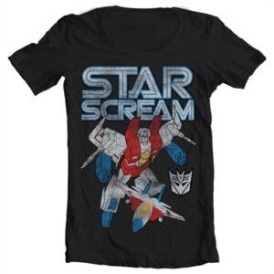 Starscream Distressed T-shirt collo largo