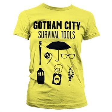 Gotham Survival Tools T-shirt donna