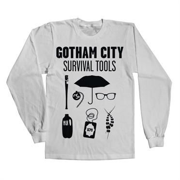 Gotham Survival Tools Long Slevve T-shirt