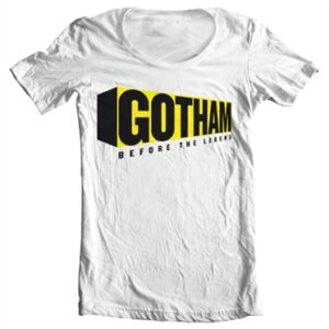 Gotham Before The Legend T-shirt collo largo