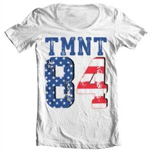 TMNT USA 1984 T-shirt collo largo