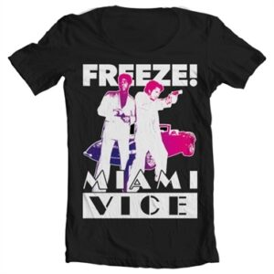 Miami Vice - Freeze T-shirt collo largo