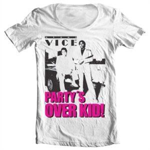 Miami Vice - Partyᄡs Over Kid T-shirt collo largo