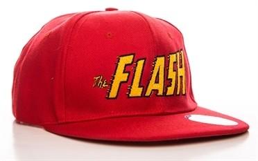 The Flash Text Logo Berretto con visiera