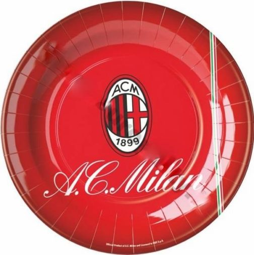 Piatti festa Milan