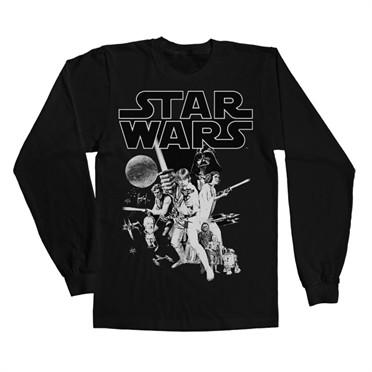 Star Wars Classic Poster Long Sleeve T-shirt