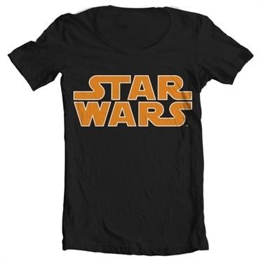 Star Wars Classic Logo T-shirt collo largo