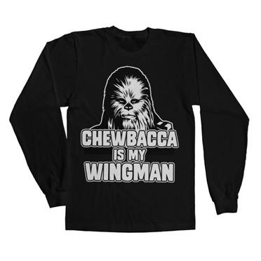 Chewbacca Is My Wingman Long Sleeve T-shirt
