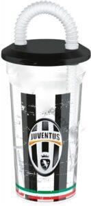 Bicchiere sport con cannuccia Juventus