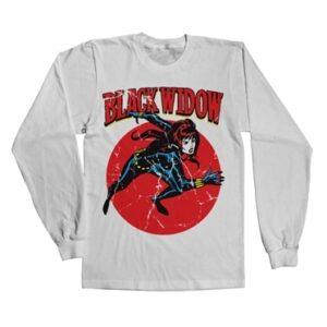 Marvels Black Widow Long Sleeve T-shirt
