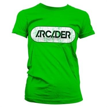 Arcader Distressed Logo T-shirt donna