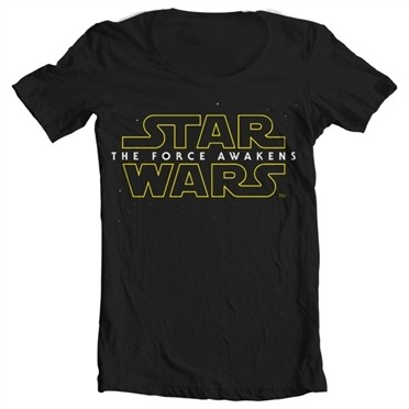 The Force Awakens Logo T-shirt collo largo