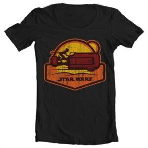 Star Wars 7 - Speeder T-shirt collo largo