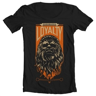 Chewbacca Loyalty T-shirt collo largo