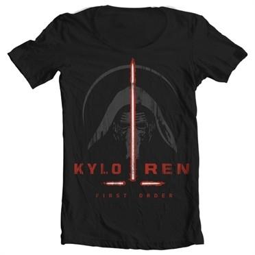 Kylo Ren First Order T-shirt collo largo