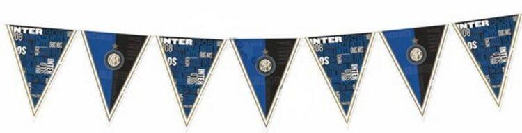 Festone bandierine Inter