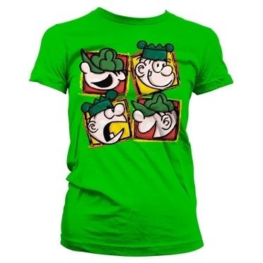 Beetle Bailey 4 Faces T-shirt donna
