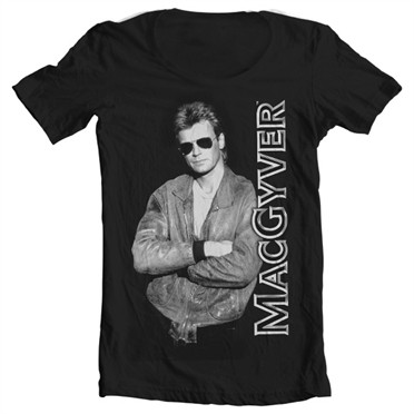 Cool Macgyver T-shirt collo largo