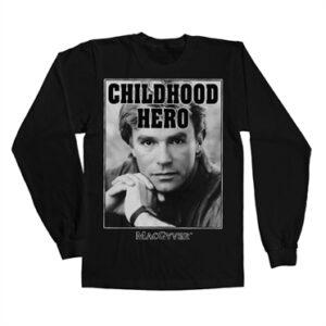 Macgyver - Childhood Hero Long Sleeve T-shirt
