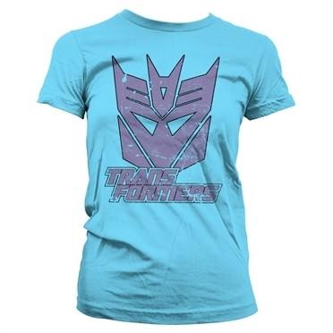 Retro Decepticon T-shirt donna