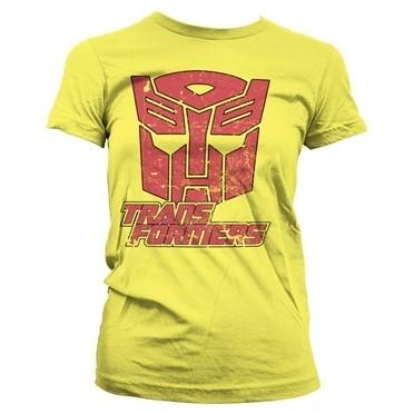 Retro Autobot T-shirt donna