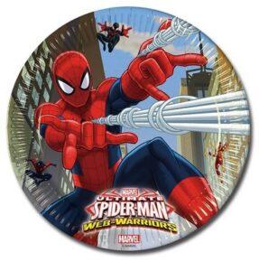 Piatti piani Ultimate Spiderman Web Warriors