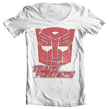 Retro Autobot T-shirt collo largo