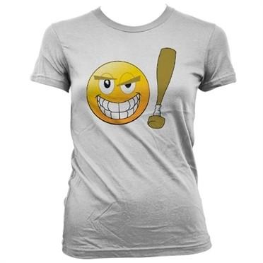 Emoji - Baseball Bat T-shirt donna