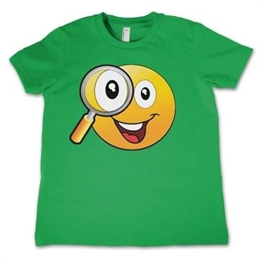 Emoji - Magnifying Glass T-shirt Bambino
