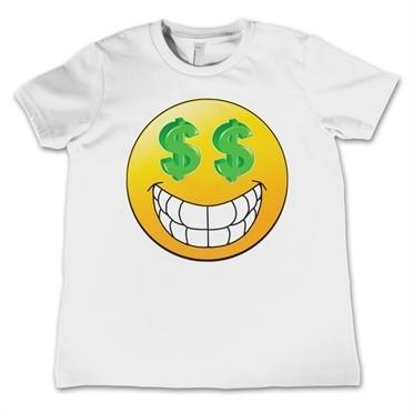 Emoji $$ Eyes T-shirt Bambino