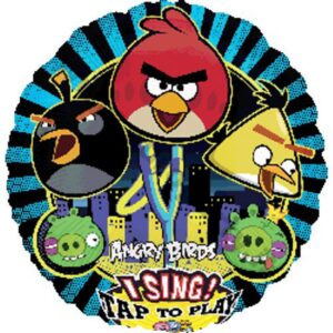 Palloncino musicale Angry Birds