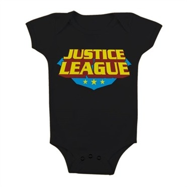 Justice League Classic Logo Baby Body