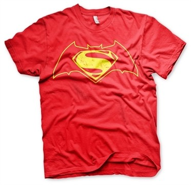 Batman Vs Superman Logo T-Shirt