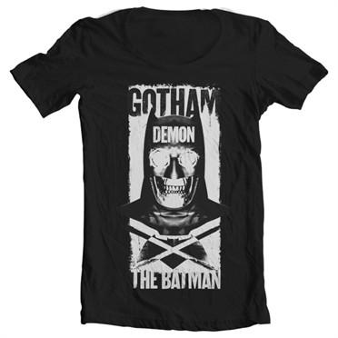 Gotham Demon T-shirt collo largo