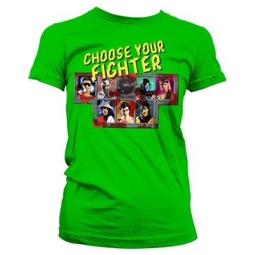 Choose Your Fighter T-shirt donna