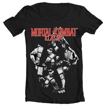 Mortal Kombat Klassic Fighters T-shirt collo largo