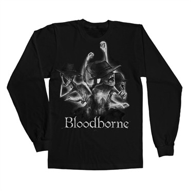 Bloodborne Tophat Long Sleeve T-shirt