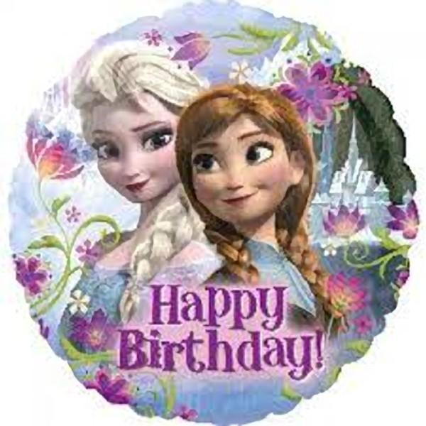 Palloncino Happy Birthday Disney Frozen
