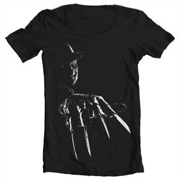 Freddy Krueger T-shirt collo largo