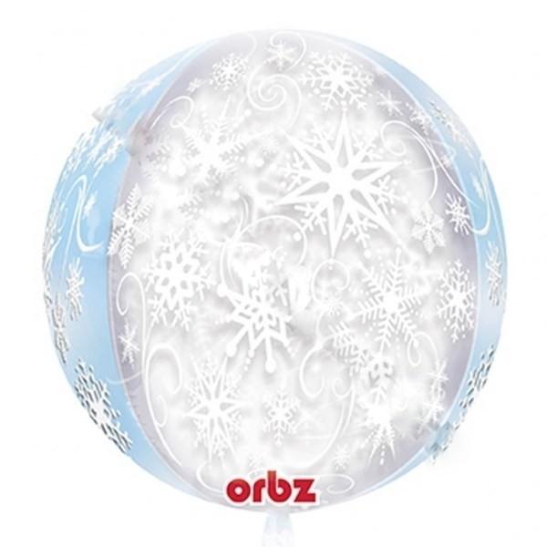 Palloncino sferico Fiocco di Neve Disney Frozen
