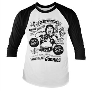 Goonies - Chunk Jerk Alert Baseball Long Sleeve