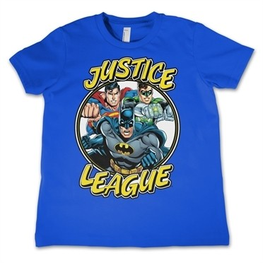 Justice League Team T-shirt Bambino