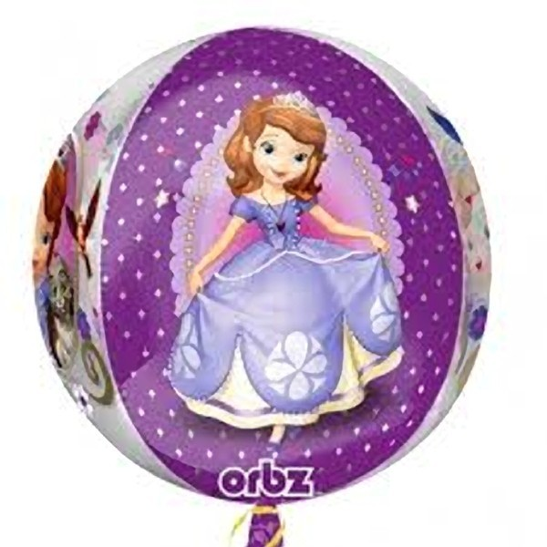 Palloncino sferico Sofia la Principessa