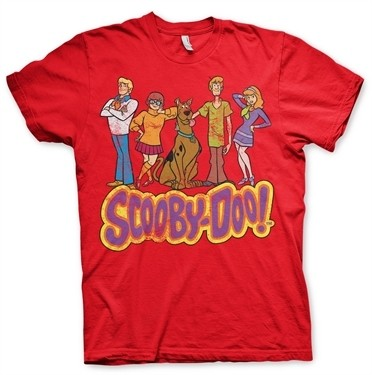Team Scooby Doo Distressed T-Shirt