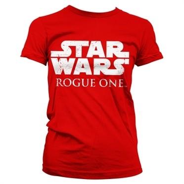Star Wars Rogue One Logo T-shirt donna