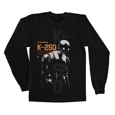 Star Wars Rogue One K-2SO Long Sleeve T-shirt