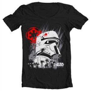 Rogue One Shore Trooper T-shirt collo largo