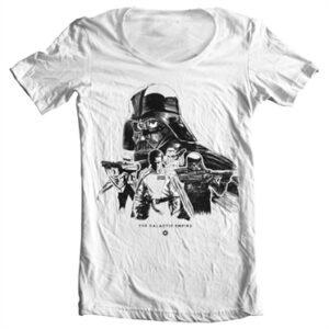 The Galactic Empire T-shirt collo largo
