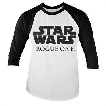Rogue One Logo Baseball T-shirt